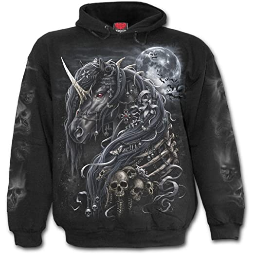 Spiral - Mens - Dark Unicorn - Hoody Black - S