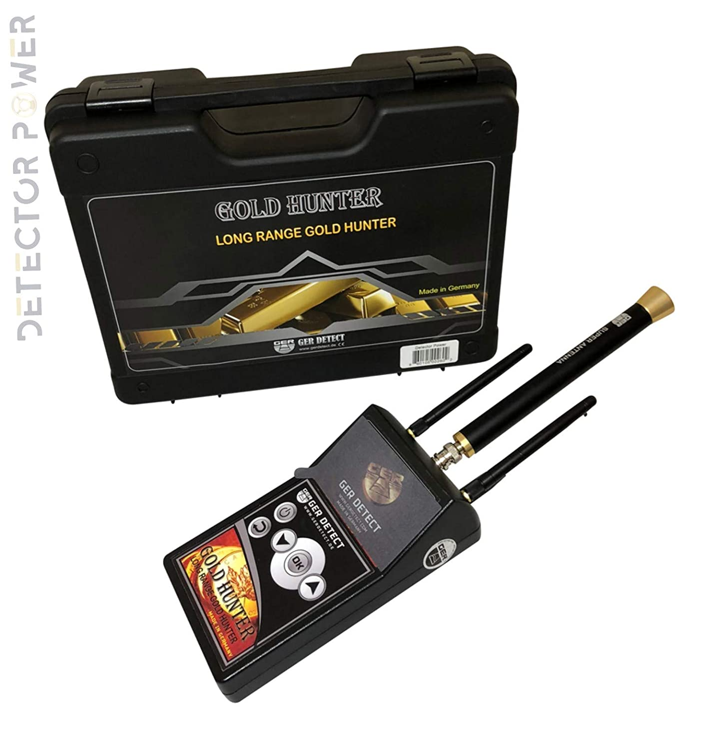 Amazon.com : GER DETECT Gold Hunter Professional Geolocator Long Range Detector | Underground Depth Scanner & Distance Targeting | Find Gold, Silver, Coins, ...