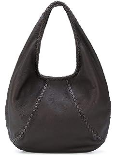d9d9e408544c Amazon.com  Bottega Veneta Women s Gold Black Leather ...