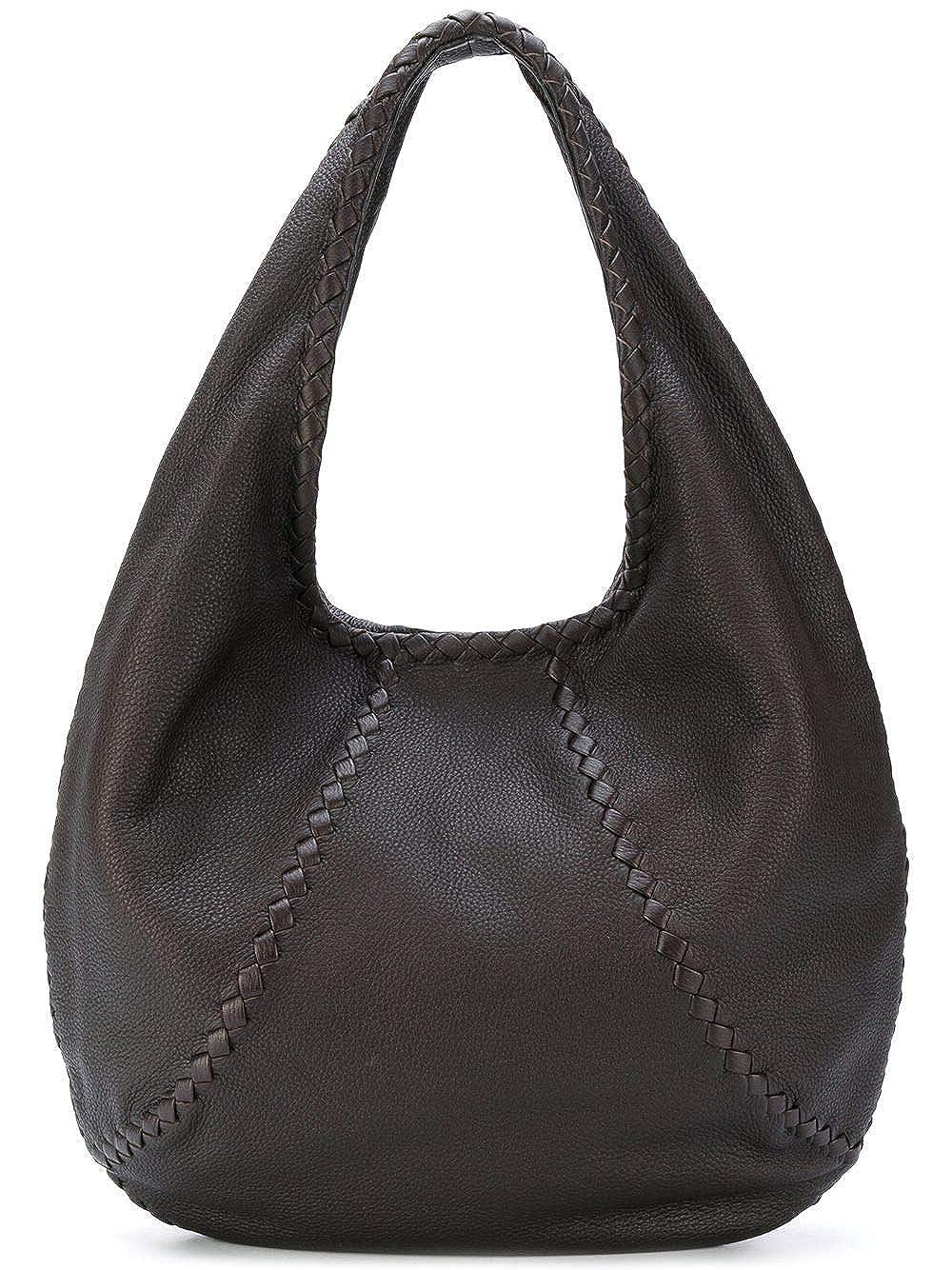 d8fb048469 Amazon.com  Bottega Veneta Cervo Large 212741vq920 Espresso Hobo Bag  Shoes