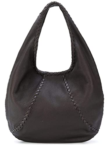 Amazon.com  Bottega Veneta Cervo Large 212741vq920 Espresso Hobo Bag  Shoes 9aca5d6dbdfc