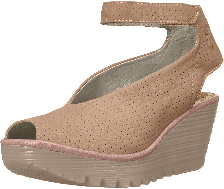 Yala Perforated Wedge Sandal