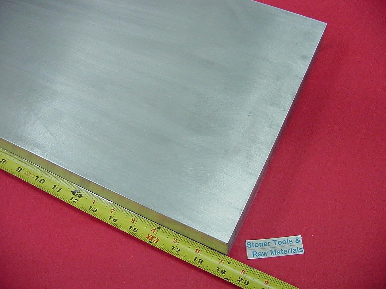 "1//2/"" X 12/"" ALUMINUM 6061 FLAT BAR 15/"" long Solid T6511 Extruded Mill Stock .50/"""