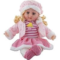 Vishal Smart Mall Good Looking Girl Baby Doll Singing Songs (40 cm; Multicolour)