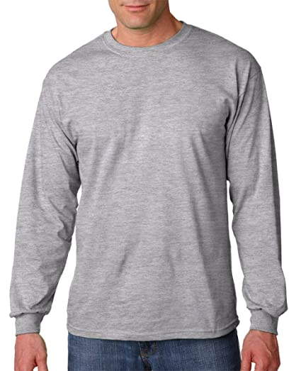 913fb1a4f53 Image Unavailable. Image not available for. Color  Gildan Cotton Long  Sleeve T-Shirt