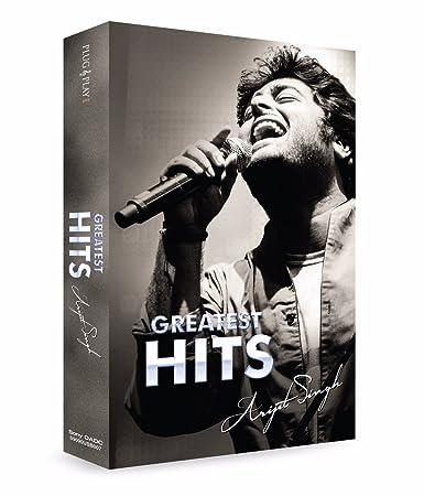 Music Card: Greatest Hits - Arijit Singh (320 Kbps Mp3 Audio) (4 GB)