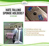 The Crown Choice Upgraded Adhesive Sponge Holder