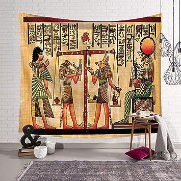 MIGUOR Tapiz para Pared de la Serie Antiguo Egipto, decoración ...