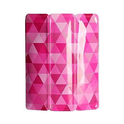 Vacu Vin 3882160 - Enfriador para botellas de vino, diseño diamantes rosas