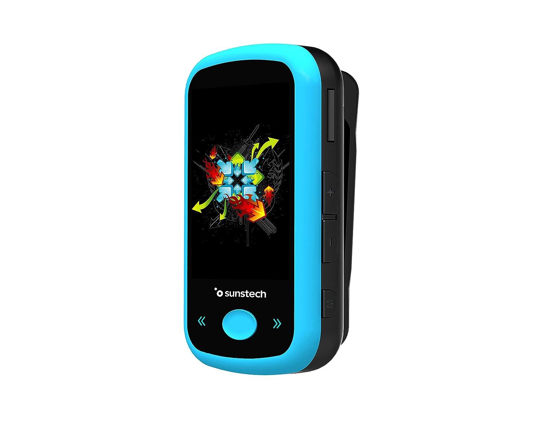 Sunstech IBIZABT4GBBL - Reproductor MP4, Color Azul: Amazon.es ...