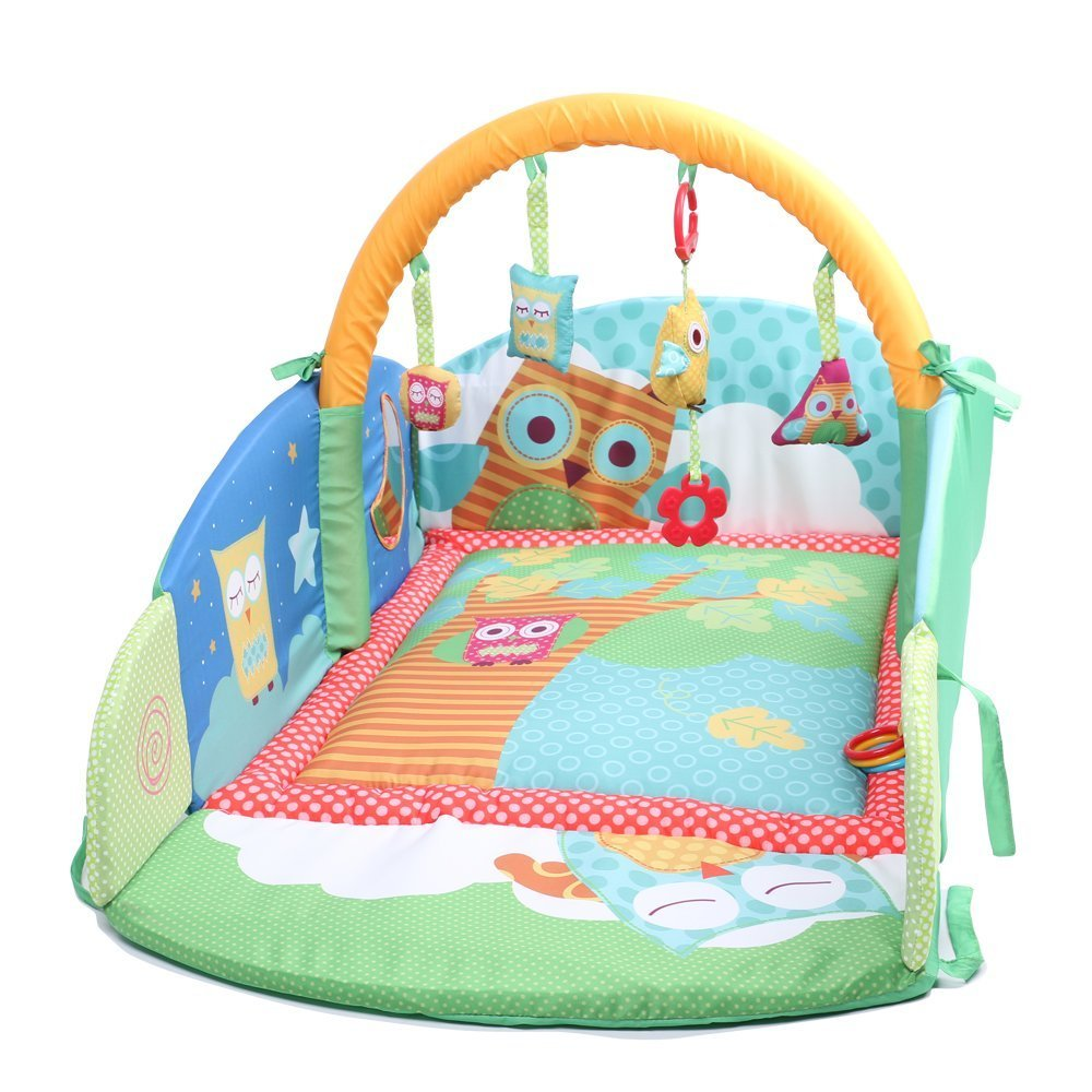 Labebe - Baby Foldable Travel Bed of Owl