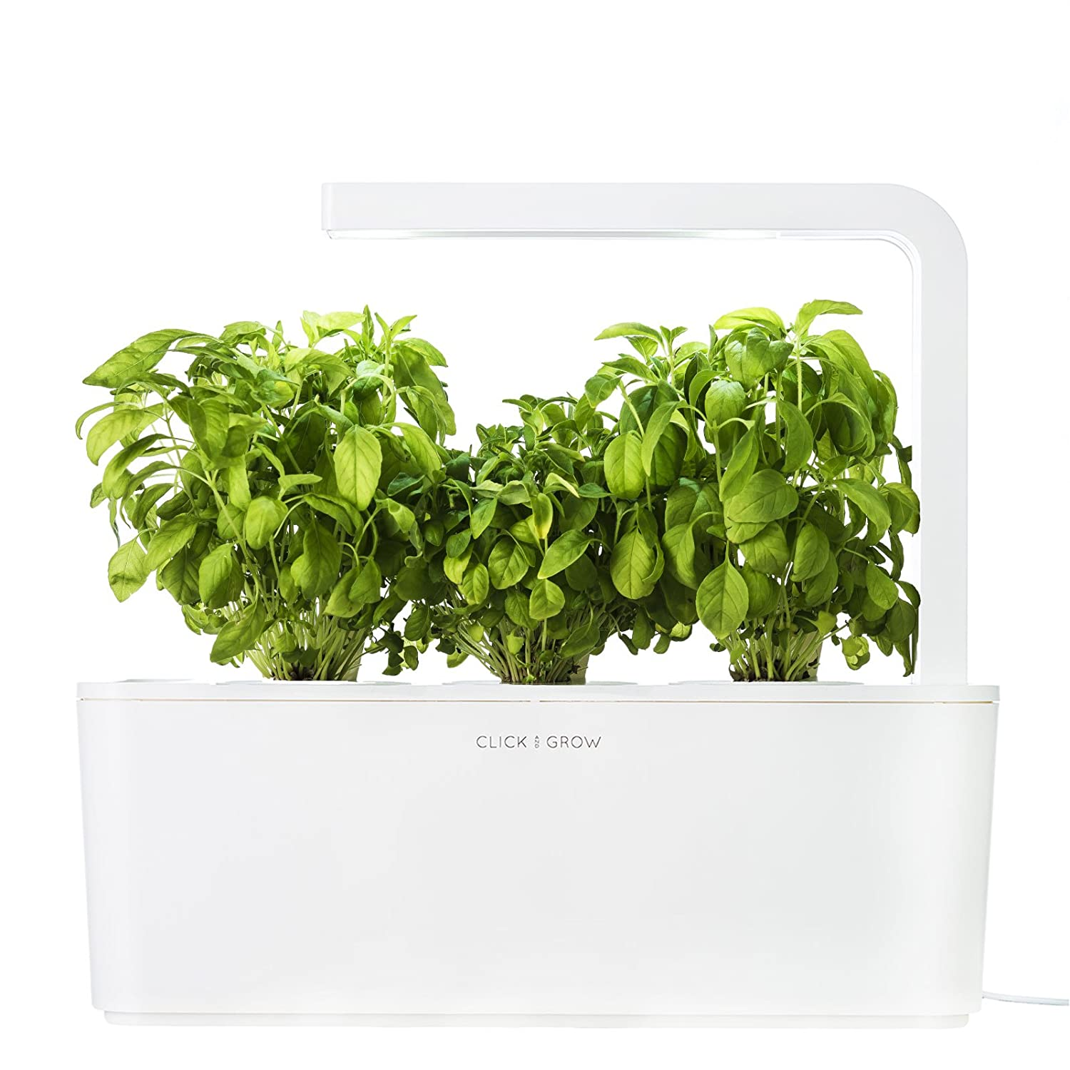 Led Kitchen Garden Amazoncom Click Grow Indoor Smart Fresh Herb Garden Kit With