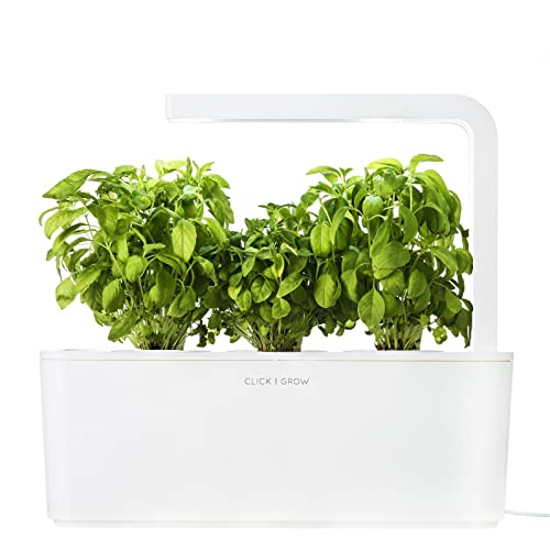 Click & Grow Indoor Smart Fresh Herb Garden Kit