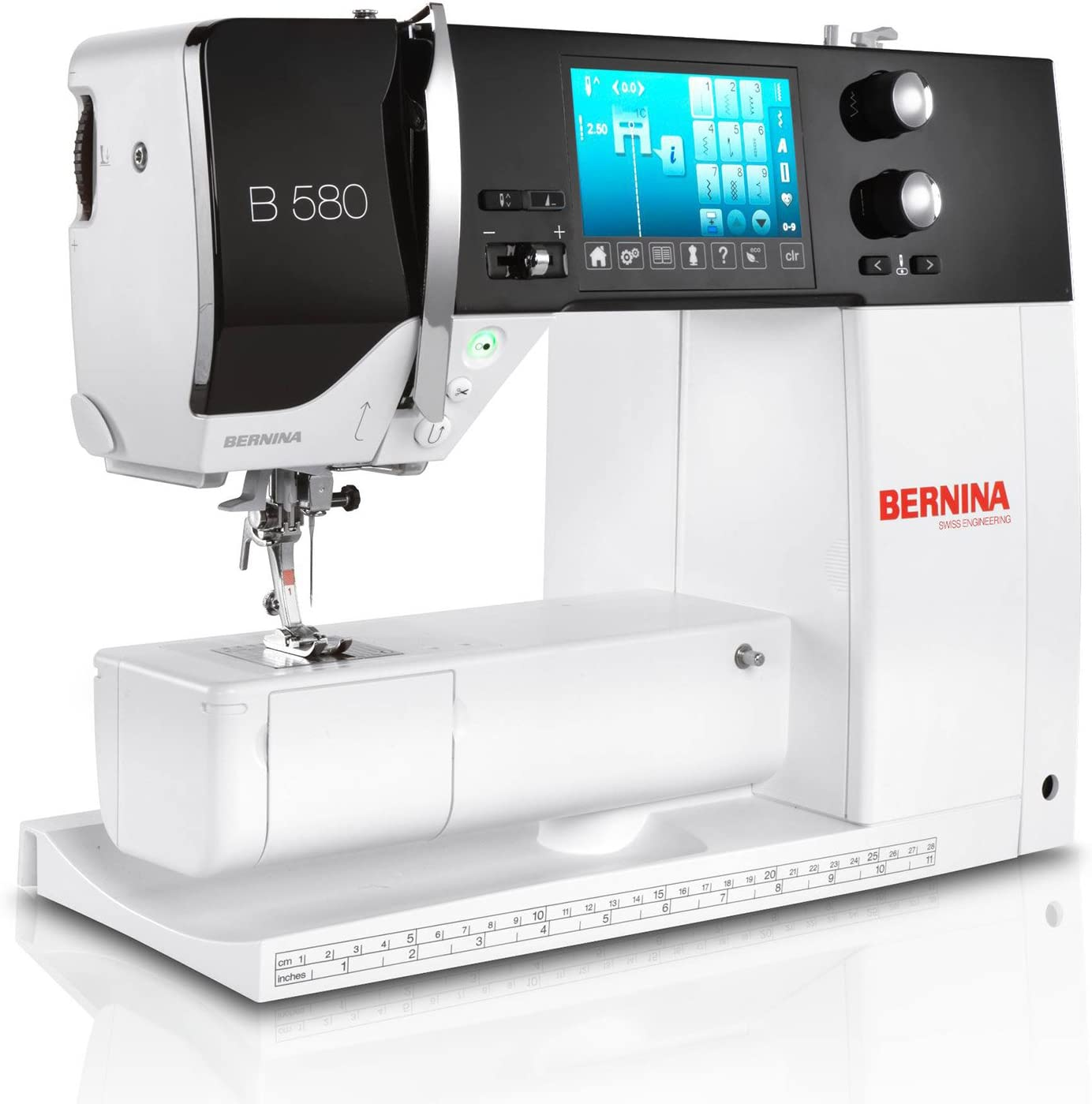 maquina coser y bordar Bernina 580 con modulo de bordado: Amazon ...