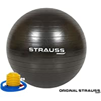 Strauss Anti-Burst Gym Ball with Foot Pump
