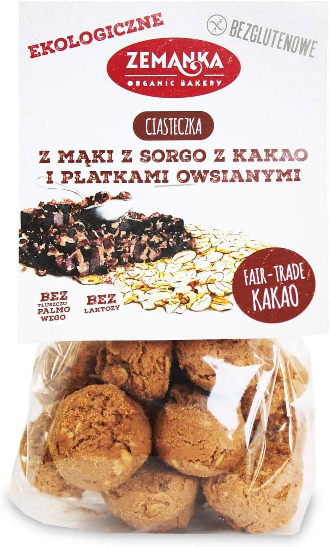 Galletas con avena y cacao (sin gluten) BIO 100 g - Zemanka ...