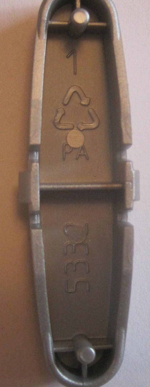 - Argent/é Bouton Peg en PVC Pour poussette Pilko P3/ mod/èle de 2003/jusqu/à 2010