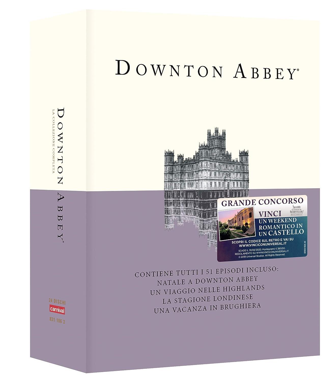 Come Si Dice Letto A Castello In Inglese.Amazon It Downton Abbey La Collezione Completa 24 Dvd