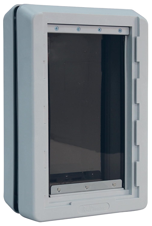 Extra Large  9.75\ Ideal_Pet_Products Designer Series Ruff Weather  Alarm Alert  Pet Door, XLarge