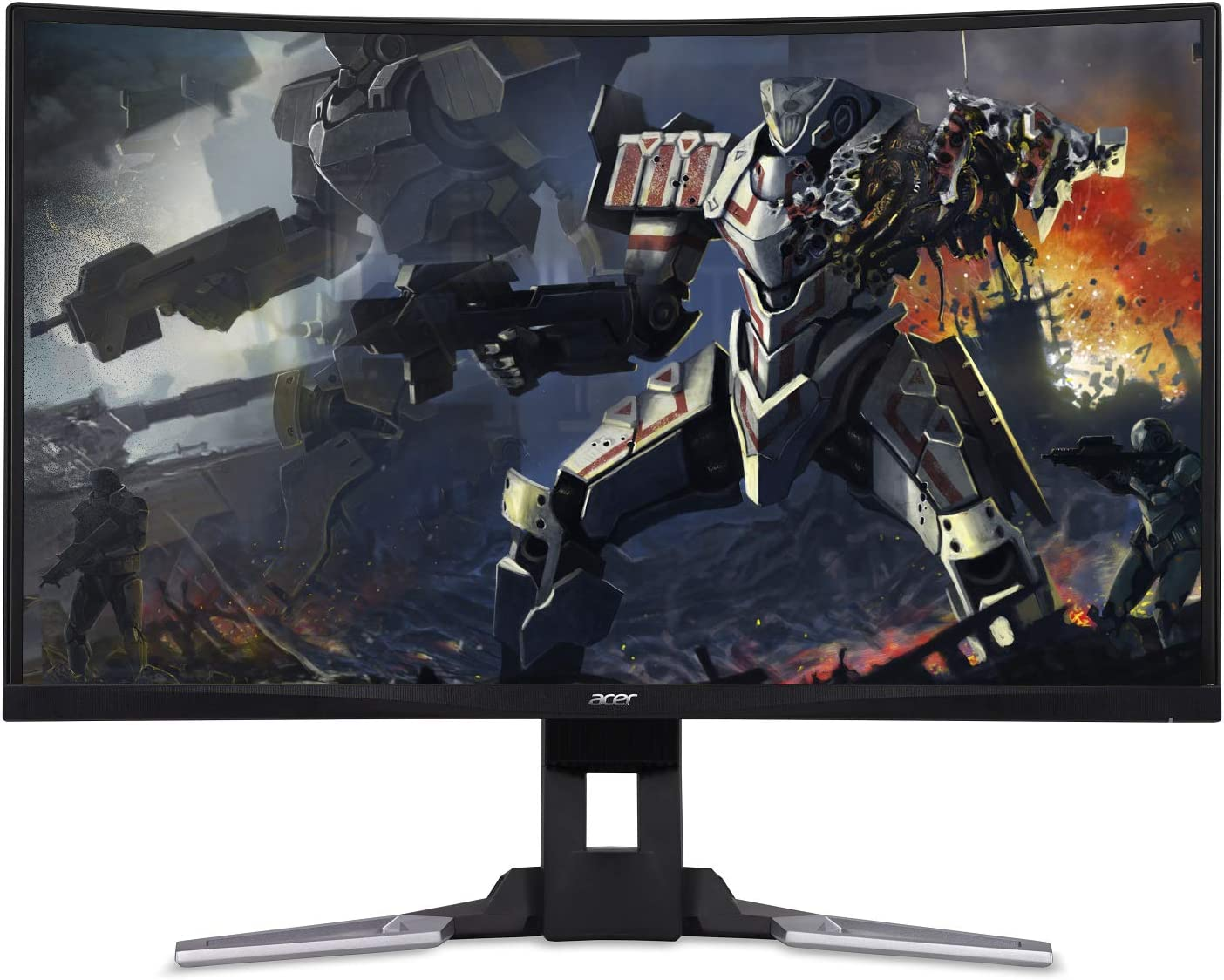 "Acer XZ321Q bmijpphzx 31.5"" Curved Full HD (1920 x 1080) AMD Radeon FreeSync and NVIDIA G-SYNC Compatible Gaming Monitor (Display Port, Mini Display Port & 2 x HDMI Ports)"