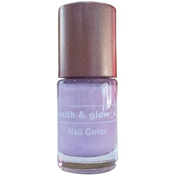 Buy Health Glow Nail Color Pearly Girl 6ml Bottle Online At Low