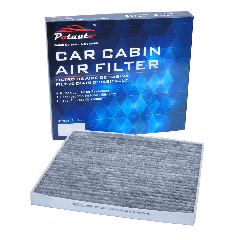 Cobalt Ion G5 Pursuit High Performance Car Cabin Air Filter Replacement for CHEVROLET SATURN POTAUTO MAP 1009W CF10361 PONTIAC HHR