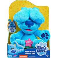 Famosa – Las Pistas de Blue y Tú, Peek-A-Boo Plush Blue, peluche de 25 cm interactivo del perro protagonista de la serie…