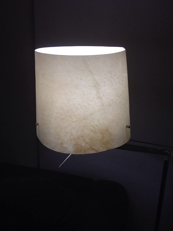 Ikea Floor Lamp – Lámpara de de Lámpara pie natural cabra Parchment Leather fd0009