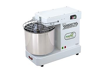 Famag - Amasadora de espiral de 8 kg para pan y pizza, máquina de cocina: Amazon.es: Hogar