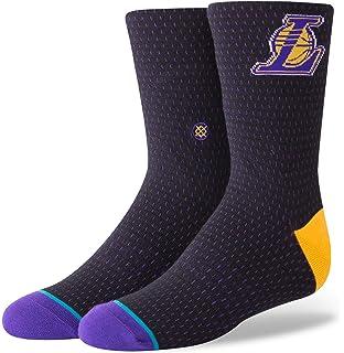 643f4e8b0ec1 Stance Men s Lakers Acid Wash Socks at Amazon Men s Clothing store