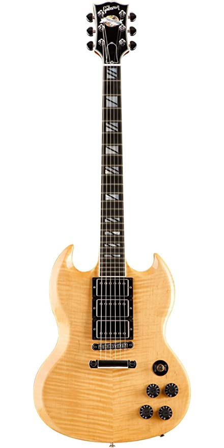 e1ecab9933efe3 Gibson SG Supra Guitar Antique Natural  Amazon.ca  Musical ...