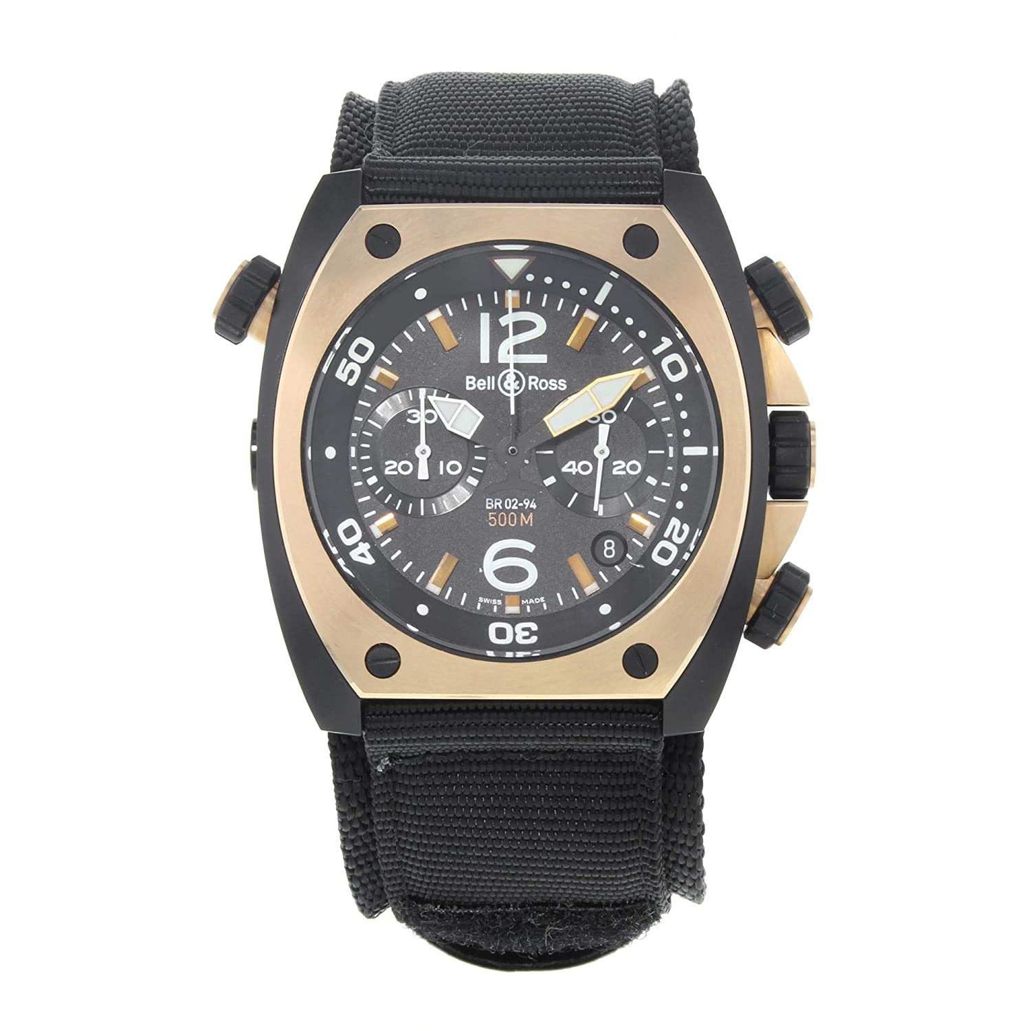Bell & Ross Maxi Marine Automatic-self-Wind Male Watch BR02-CHR (Certified Pre-Owned)