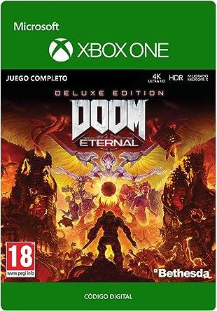 Doom Eternal Deluxe | Xbox One - Código de descarga: Amazon.es ...