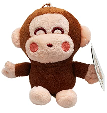 Amazon.com  Sanrio s Monkichi Small Size Monkey Plush Keychain (4in ... a410e3caf7d6