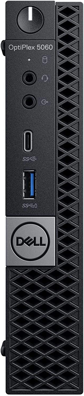 Dell OP5060MFFM9MVX OptiPlex 5060 Micro PC with Intel Core i5-8500T 2.1 GHz Hexa-core, 8GB RAM, 500GB HDD
