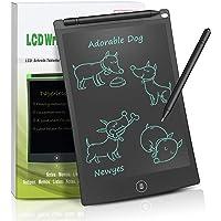 NEWYES Tablette d'écriture LCD numérique Ewriter NYWT085A- 8.5 Pouces Tablette Graphique Portable Tableau Blanc Tablette Robuste Convient pour l'école à Domicile Bloc-Notes de Bureau(Noir)
