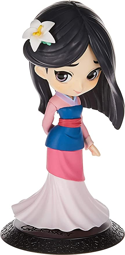Banpresto Disney Characters Q Posket Mulan Pastel Color Version B