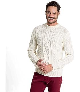 WoolOvers Gerippter Seemanns Pullover aus reiner Wolle für
