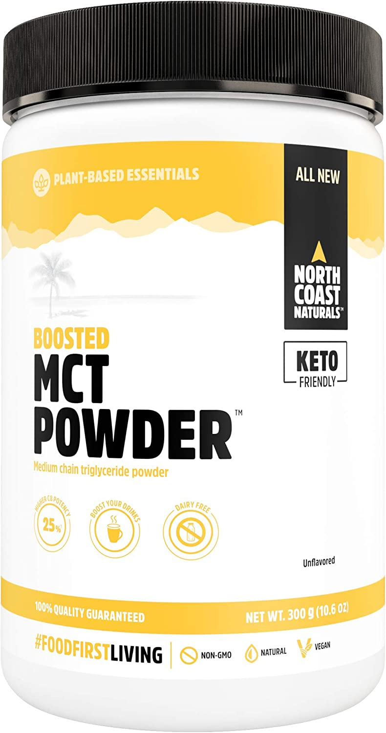 North Coast Naturals Boosted MCT Oil Powder