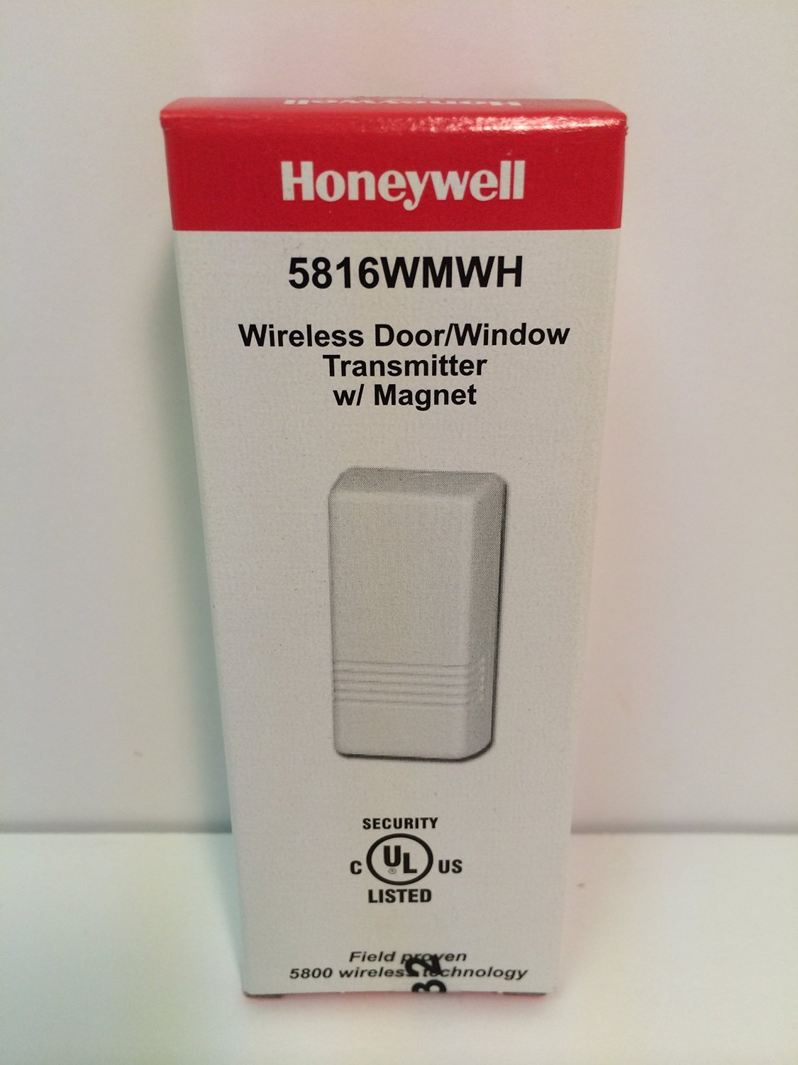 Honeywell Ademco 5816WMWH White Door / Window Transmitter w/ Magnet (2 Pack)