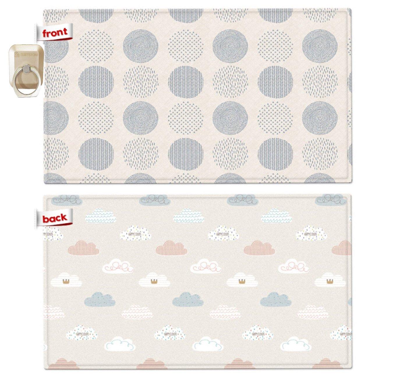 Parklon Pure Soft Play Mat190*130*1.2cm環境安全ベビープレイマット赤ちゃんマット(海外直送)   B06XVLTG4W