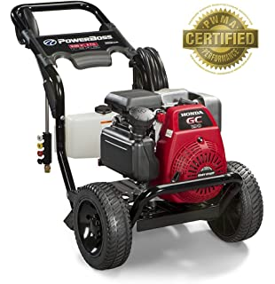 PowerBoss Gas Pressure Washer 3100 PSI, 2.7 GPM Powered by HONDA GC190 Engine with 25