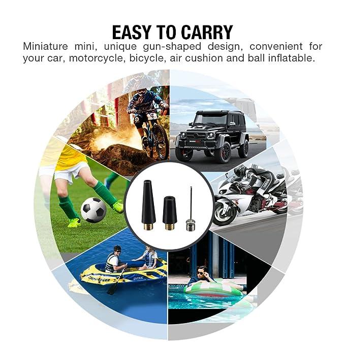 Amazon.com: IDER portátil inflador de neumáticos, cinco en ...