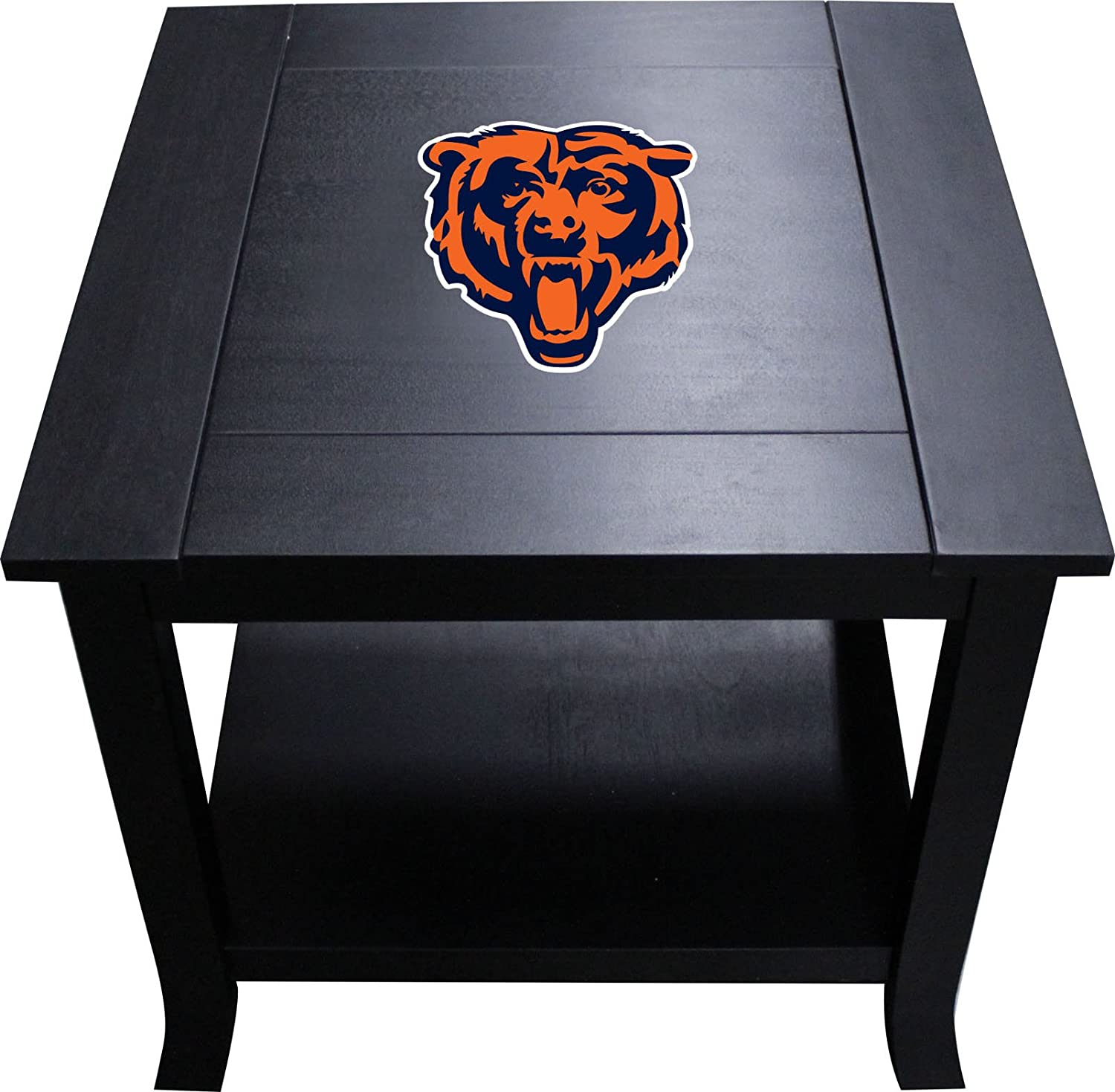 Imperial Officially Licensed NFL Furniture Hardwood Side//End Table