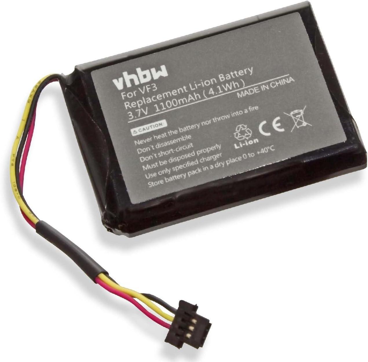 Vhbw Li Ion Akku 1100mah Für Navi Gps Tomtom Quanta Elektronik