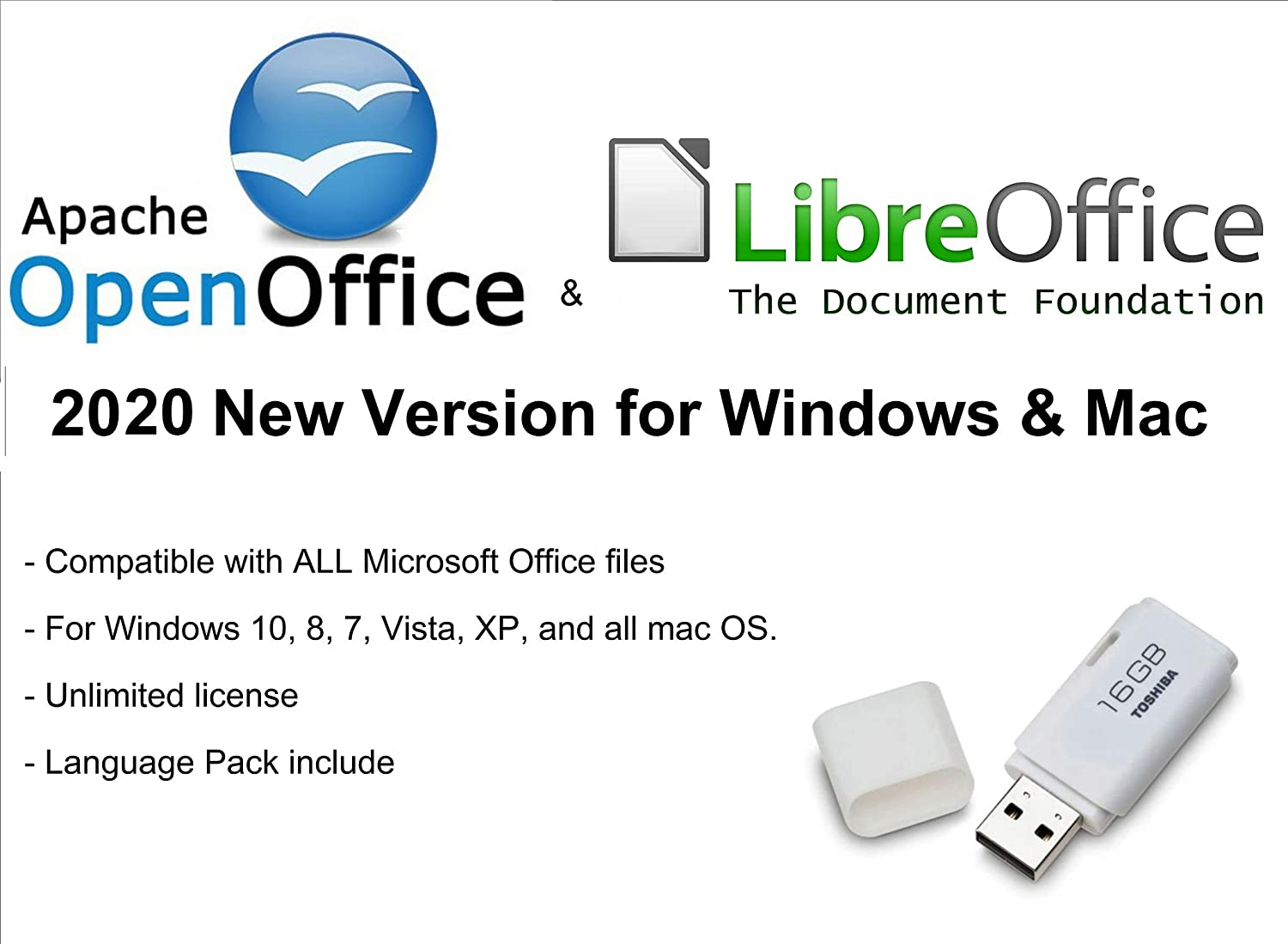 ✅ Apache Open Office & Libre Office 2020 Latest Full Version for Microsoft Windows & Mac OS X