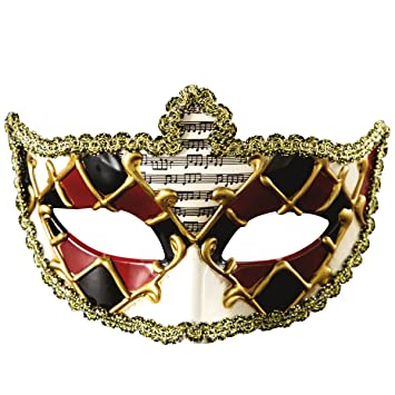 Xhb Máscara De Halloween Mascarada Media Cara Fiesta Hombres Y Mujeres Festival De Venecia Props,