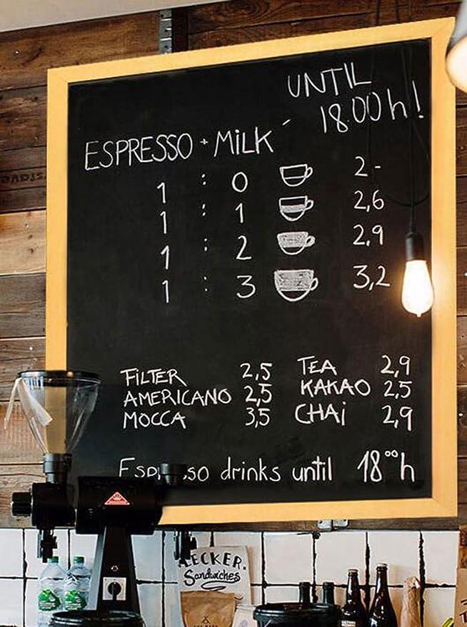 Rústico Tabla Negro Tablero de Tiza Blackboard Chalkboard ...