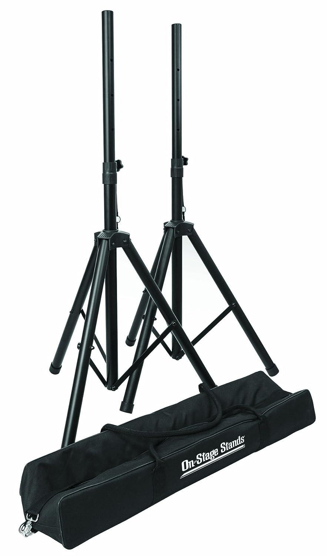 On Stage SSP7750 Compact Speaker Stand Pak
