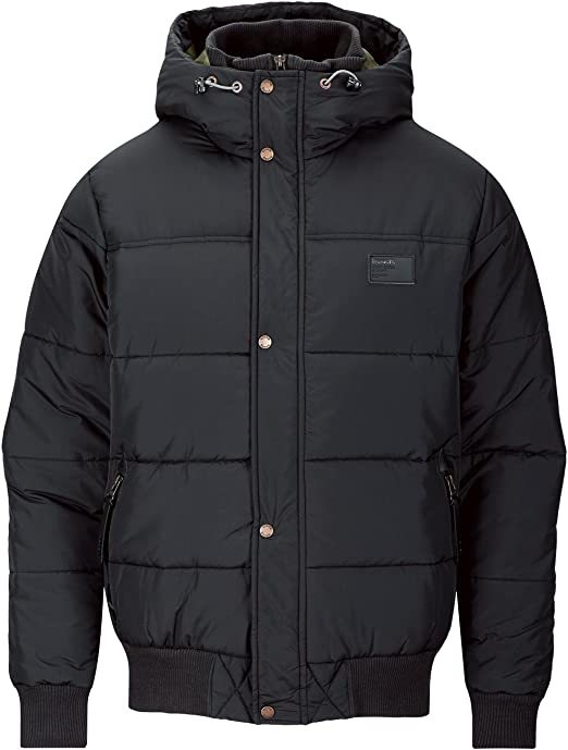 Bench Herren Jacke schwarz (black) Large: : Bekleidung
